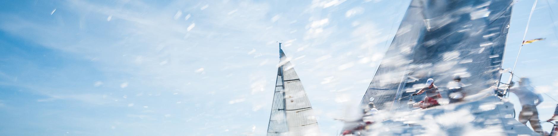 Skippertraining am Ijsselmeer