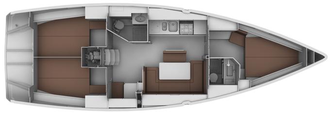 Bavaria Cruiser 40 Fuss