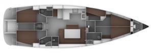 Bavaria Cruiser 50 Fuss