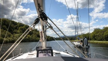 Through the Caledonian Canal