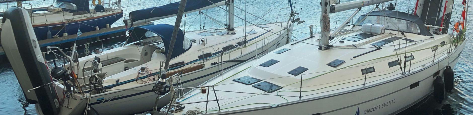 Eignerboote in der Marina