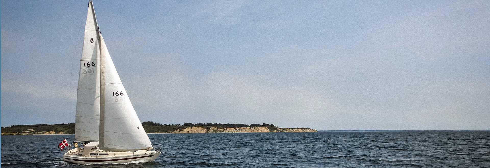 dänischen Limfjord mit Sonnenuntergang