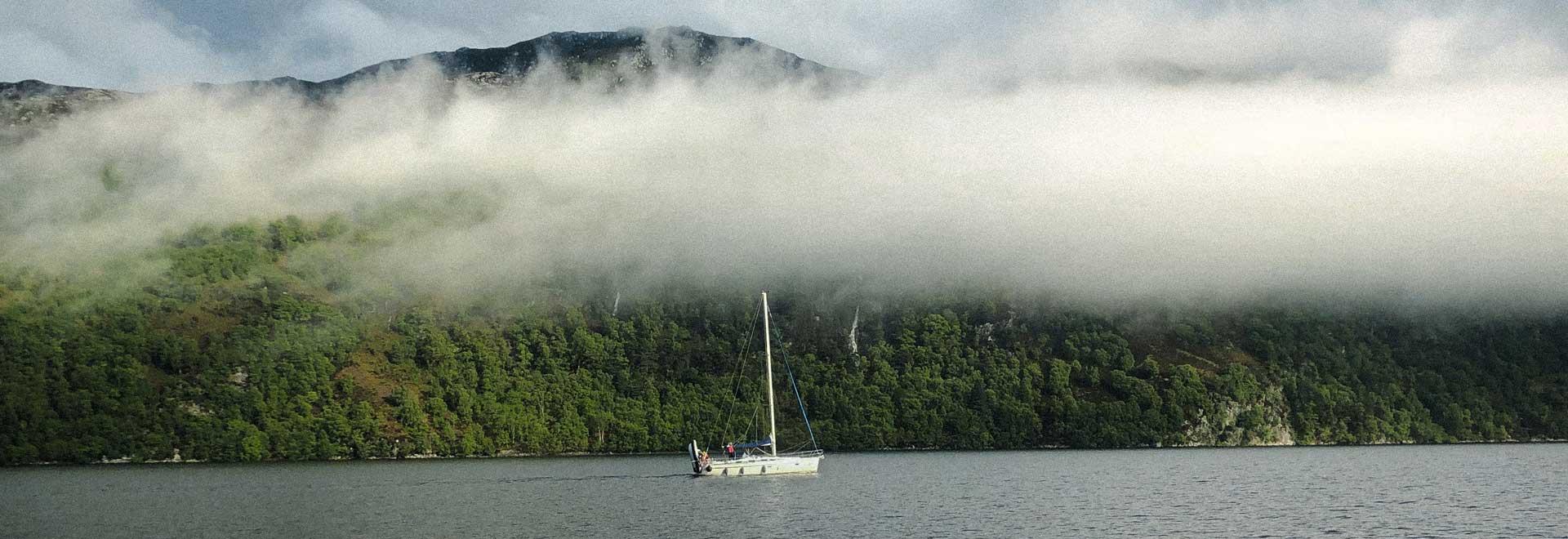 Mitsegeln auf Norsee und Ostsee - Schottland - Loch Ness - Kaledonischer Kanal