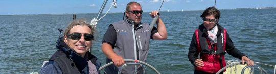 Frauen-Skippertraing am Ijsselmeer 2021